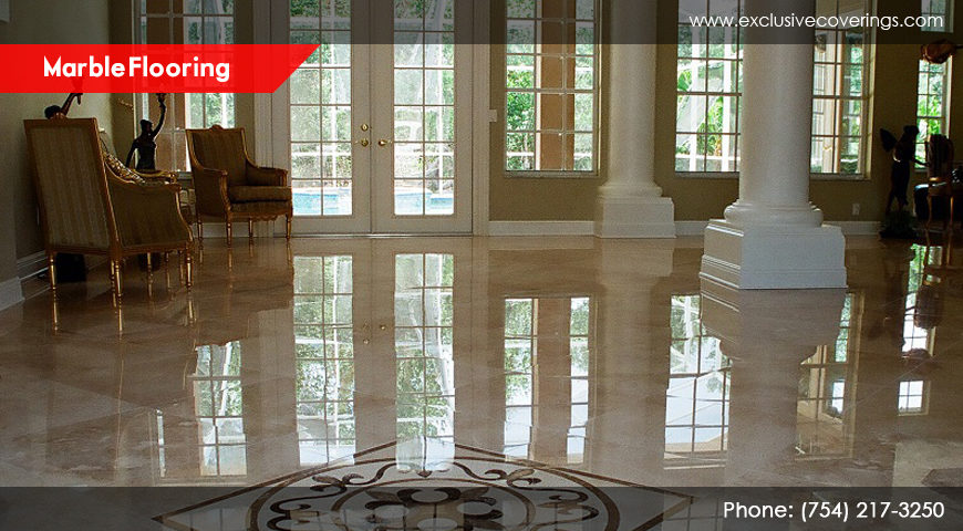 Marble Flooring – defines standards of sophistication at your place