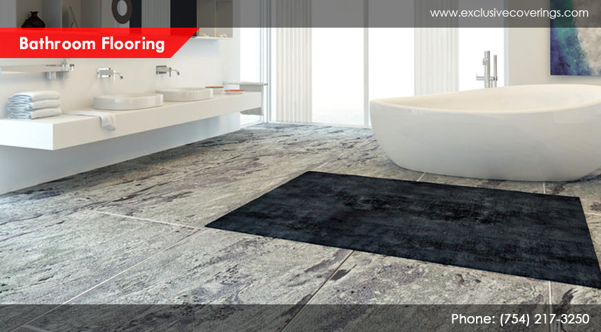Bathroom Flooring – provides your bathroom with a tinge of glamour and comfort