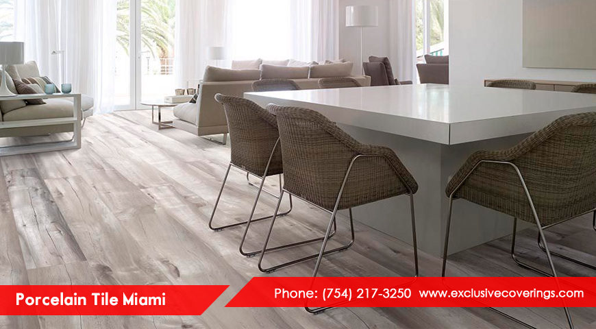 Porcelain Tile Miami – create a grand ambience with the best porcelain